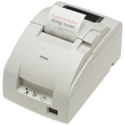 Epson - C31C514A8731 - Epson TM-U220B POS Receipt Printer - 9-pin - 6 lps Mono - USB - PC