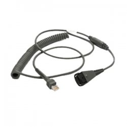 Motorola - CBA-D02-C09ZAR - 9ft Cable Coiled Standard