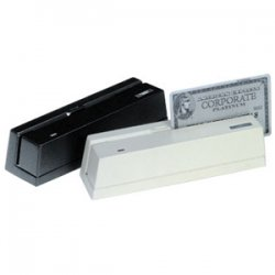 Logic Controls - MR3000-BK - Logic Controls MR3000 Magnetic Stripe Reader - Dual Track - 47.24 in/s