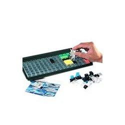 PrehKeyTec - 12308-100/1800 - Prehkeytec, Key 1 X 2, Black, W/hinge & Cover, Ord Incrm 100
