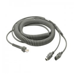 Motorola - CBA-K08-C20PAR - Kyd Wedge Cable/ps2 Pwr