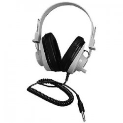 Ergoguys - 2924AVPS - Ergoguys Ultra Sturdy Stereo Headphone with Volume Control - Wired Connectivity - Stereo - Over-the-head - Beige