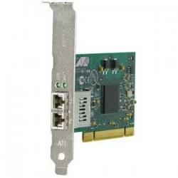 Allied Telesis - AT-2916SX/SC-901 - Allied Telesis AT-2916SX 32-bit Gigabit Fiber Adapter Card - PCI - 1 x SC - 1000Base-SX