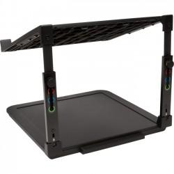 Kensington - K52783WW - Kensington SmartFit Laptop Riser - Up to 15.6 Screen Support - 7.70 lb Load Capacity - 8.7 Height x 10.1 Width x 9.8 Depth - Desktop - Black