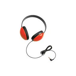 Ergoguys - 2800-RD - Ergoguys Califone Children's Stereo Headphone - Wired Connectivity - Stereo - Over-the-head - Red