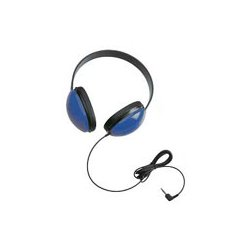 Ergoguys - 2800-BL - Califone Childrens Stereo Blue Headphone Lightweight Via Ergoguys - Stereo - Blue - Mini-phone - Wired - 25 Ohm - 20 Hz 20 kHz - Over-the-head - Binaural - Circumaural - 5.50 ft Cable