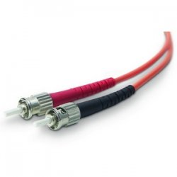 Belkin / Linksys - A2F20200-02M - Belkin - Patch cable - ST/PC multi-mode (M) to ST/PC multi-mode (M) - 6.6 ft - fiber optic - 62.5 / 125 micron - OM1 - orange - B2B