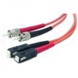 Belkin - A2F20207-02M - Belkin Fiber Optic Duplex Patch Cable - ST Male - SC Male - 6.56ft - Orange