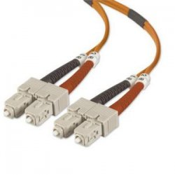 Belkin / Linksys - A2F40277-01M - Belkin Fiber Optic Duplex Patch Cable - SC Male - SC Male - 3.28ft