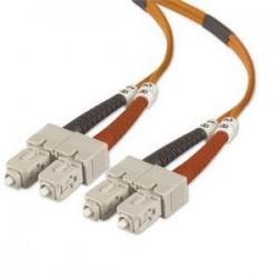 Belkin - A2F40277-05M - Belkin Fiber Optic Duplex Patch Cable - SC Male - SC Male - 16.4ft