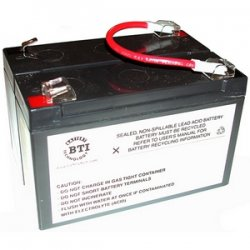 Battery Technology - RBC3-SLA3-BTI - BTI UPS Replacement Battery Cartridge - 6 V DC - Lead Acid