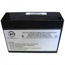 Battery Technology - RBC21-SLA21-BTI - BTI UPS Replacement Battery Cartridge - 12 V DC - Lead Acid