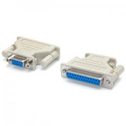 StarTech - AT925FF - StarTech.com DB9 to DB25 Serial Cable Adapter - F/F - 1 x DB-9 Female - 1 x DB-25 Female