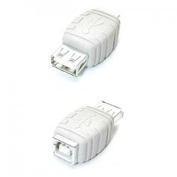 StarTech - GCUSBABFF - StarTech.com USB A to USB B Cable Adapter F/F - 1 x Type A Female - 1 x Type B Female