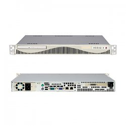 Supermicro - SYS-6015V-MRLP - Supermicro SuperServer 6015V-MRLP Barebone System - Intel 5000V - LGA771 Socket - Xeon (Dual-core) - 1333MHz, 1066MHz Bus Speed - 16GB Memory Support - DVD-Reader (DVD-ROM) - Gigabit Ethernet - 1U Rack