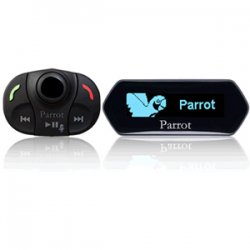 Parrot - PF310008AA - Parrot MKi9100 Wireless Bluetooth Car Hands-free Kit - USB - OLED Display - 32.8 ft Range