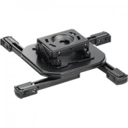 InFocus - PRJ-MNT-UNIV - InFocus PRJ-MNT-UNIV Ceiling Mount for Projector - 25 lb Load Capacity - Steel - Black Wrinkle