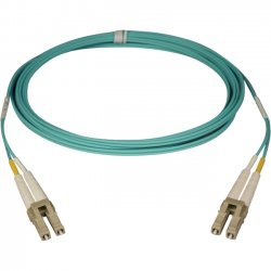 Tripp Lite - N820-06M - Tripp Lite 10Gb Duplex Multimode 50/125 OM3 - LSZH Fiber Patch Cable, (LC/LC) - Aqua, 6M (20-ft.)