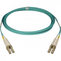 Tripp Lite - N820-07M - Tripp Lite 10Gb Duplex Multimode 50/125 OM3 - LSZH Fiber Patch Cable, (LC/LC) - Aqua, 7M (23-ft.)