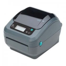 "Zebra Technologies - GX42-102711-000 - Zebra GX420t Direct Thermal/Thermal Transfer Printer - Monochrome - Desktop - Label Print - 4.09"" Print Width - 6 in/s Mono - 203 dpi - 8 MB - Wireless LAN - USB - Serial - LCD - 4.25"" Label Width - 39"" Label Length"