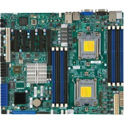 Supermicro - MBD-H8DCL-IF-O - Supermicro H8DCL-iF Server Motherboard - AMD Chipset - Socket C32 LGA-1207 - Retail Pack - ATX - 2 x Processor Support - 128 GB DDR3 SDRAM Maximum RAM - 1.07 GHz Memory Speed Supported - 8 x Memory Slots - Serial ATA/300 RAID