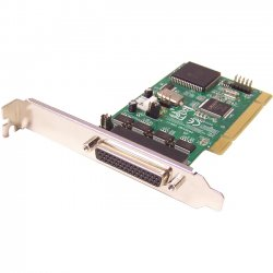 SIIG - ID-P40211-S1 - SIIG 4-port Multiport Serial Adapter - Universal PCI - 4 x DB-9 Male RS-232 Serial Via Cable - Plug-in Card - Retail