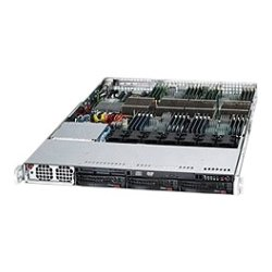 "Supermicro - CSE-818A-1400B - Supermicro SuperChassis 818A-1400B - Rack-mountable - Black - 1U - 3 x Bay - 7 x 1.57"" x Fan(s) Installed - 1 x 1.40 kW - Power Supply Installed - EATX Motherboard Supported - 3 x External 3.5"" Bay - 1x Slot(s) - 2 x USB(s)"