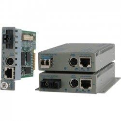 Omnitron - 8939N-0-A - Omnitron Systems iConverter GX/TM2 Media Converter - 1 x Network (RJ-45) - 10/100/1000Base-T, 1000Base-X - 1 x Expansion Slots - 1 x SFP Slots - Desktop