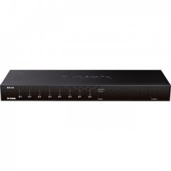 D-Link - KVM-440 - D-Link KVM Switch - 8 Computer(s) - 2048 x 1536 - 10 x PS/2 Port9 x VGA - Rack-mountable - 1U
