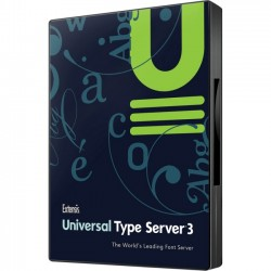 Extensis - UPE-30039 - Extensis Universal Type Server v.3.0 Professional Edition Plus 1 Year ASA - Product Upgrade License - 1 Server, 10 Client - Standard - PC, Mac - Electronic - English