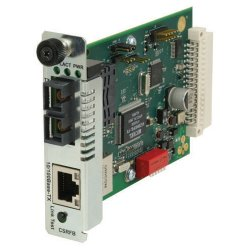 Transition Networks - CSRFB1029-100 - Transition Networks Media Converter - 1 x Network (RJ-45) - 1 x SC Ports - 10/100Base-TX, 100Base-FX