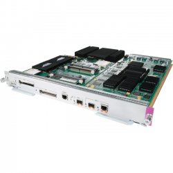 Cisco - RSP720-3C-GE-2PK - Cisco 720 Route Switch Processor - 1 x 10/100/1000Base-T LAN - 1 x SFP (mini-GBIC) , 1 x SFP (mini-GBIC) , 2 x CompactFlash Card Slot 100 Mbit/s - 4 x Expansion Slots