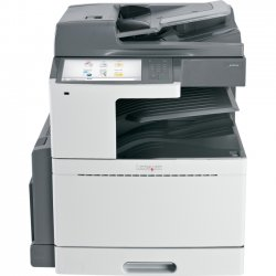 Lexmark - 22ZT152 - Lexmark X950DE LED Multifunction Printer - Color - Plain Paper Print - Desktop - Copier/Fax/Printer/Scanner - 45 ppm Mono/40 ppm Color Print - 1200 x 1200 dpi Print - Automatic Duplex Print - 45 cpm Mono/40 cpm Color Copy - 10.2""