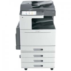 Lexmark - 22ZT153 - Lexmark X950 X952DTE LED Multifunction Printer - Color - Plain Paper Print - Floor Standing - Copier/Fax/Printer/Scanner - 50 ppm Mono/45 ppm Color Print - 1200 x 1200 dpi Print - Automatic Duplex Print - 50 cpm Mono/45 cpm Color Copy