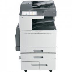 Lexmark - 22ZT150 - Lexmark X950 X954DHE LED Multifunction Printer - Color - Plain Paper Print - Floor Standing - Copier/Fax/Printer/Scanner - 55 ppm Mono/50 ppm Color Print - 1200 x 1200 dpi Print - Automatic Duplex Print - 55 cpm Mono/50 cpm Color Copy