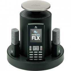 Revolabs - 10-FLX2-002-POTS - Revolabs FLX2 10-FLX2-002-POTS DECT 6.0 1.90 GHz Conference Phone - Cordless - 65.62 ft Range - Speakerphone