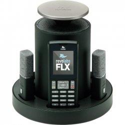 Revolabs - 10-FLX2-002-POTS - Revolabs FLX2 10-FLX2-002-POTS DECT 6.0 1.90 GHz Conference Phone - Cordless - 65.62 ft Range - Speakerphone