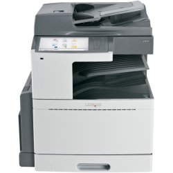 Lexmark - 22ZT160 - Lexmark X950DE LED Multifunction Printer - Color - Plain Paper Print - Desktop - Copier/Fax/Printer/Scanner - 45 ppm Mono/40 ppm Color Print - 1200 x 1200 dpi Print - Automatic Duplex Print - 45 cpm Mono/40 cpm Color Copy - 10.2""