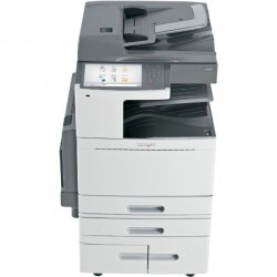 "Lexmark - 22ZT162 - Lexmark X950 X954DHE LED Multifunction Printer - Color - Plain Paper Print - Floor Standing - Copier/Fax/Printer/Scanner - 55 ppm Mono/50 ppm Color Print - 1200 x 1200 dpi Print - 55 cpm Mono/50 cpm Color Copy - 10.2"" Touchscreen - 600"