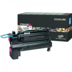 Lexmark - X792X4MG - Lexmark X792X4MG Toner Cartridge - Magenta - Laser - Extra High Yield - 20000 Pages - 1 / Pack