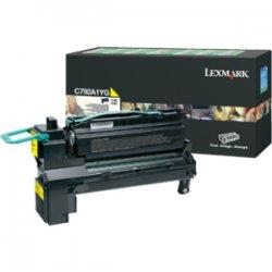 Lexmark - X792X4YG - Lexmark X792X4YG Toner Cartridge - Yellow - Laser - 20000 Pages - 1 Pack
