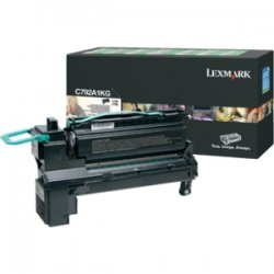 Lexmark - X792X4KG - Lexmark X792X4KG Toner Cartridge - Black - Laser - Extra High Yield - 20000 Pages - 1 / Pack