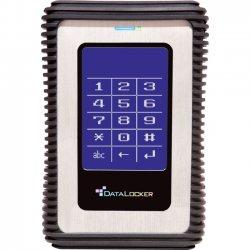 DataLocker - DL500V32F - DataLocker DL3 500 GB Encrypted External Hard Drive with RFID Two-Factor Authentication - USB 3.0 External HDD with AES XTS Mode Hardware Data Encryption 500GB w/RFID