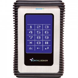 DataLocker - DL1000V32F - DataLocker DL3 1TB Encrypted External Hard Drive with RFID Two-Factor Authentication - USB 3.0 External HDD with AES XTS Mode Hardware Data Encryption 1TB w/RFID