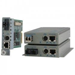 Omnitron - 8939N0-W - Omnitron Systems iConverter GX/TM2 Media Converter - 1 x Network (RJ-45) - 10/100/1000Base-T, 1000Base-X - 1 x Expansion Slots - 1 x SFP Slots - Internal