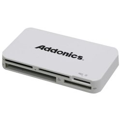 Addonics Technologies - AESDDNU3 - Addonics Mini DigiDrive IV AESDDNU3 15-in-1 USB 3.0 Flash Card Reader/Writer - 15-in-1 - microSD, Memory Stick Micro (M2), SD, SDHC, miniSD, MultiMediaCard (MMC), Reduced Size MultiMediaCard (MMC), Memory Stick