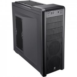 Corsair - CC-9011011-WW - Corsair Carbide 400R Mid-Tower Chassis - Mid-tower - Black - Steel, Plastic - 10 x Bay - 3 x Fan