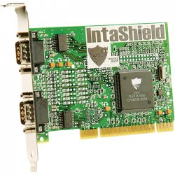 Brainboxes - IS-200 - Intashield 2-port Serial PCI Adapter - PCI