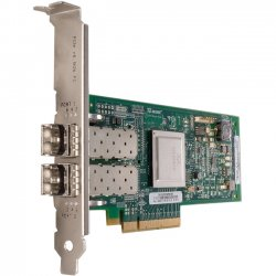Cisco - N2XX-AQPCI05= - QLogic QLE2562 - Host bus adapter - PCIe 2.0 x8 - 8Gb Fibre Channel x 2 - for UCS C200 M2, C210 M2, C460 M1, C460 M2