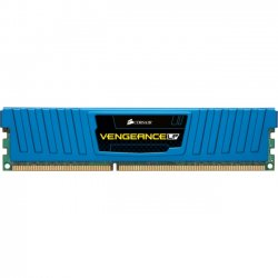 Corsair - CML4GX3M2A1600C9B - Corsair Vengeance 4GB DDR3 SDRAM Memory Module - 4 GB (2 x 2 GB) - DDR3 SDRAM - 1600 MHz DDR3-1600/PC3-12800 - Non-ECC - Unbuffered - 240-pin - DIMM